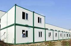 集装箱活动房环保防锈漆项目案例
